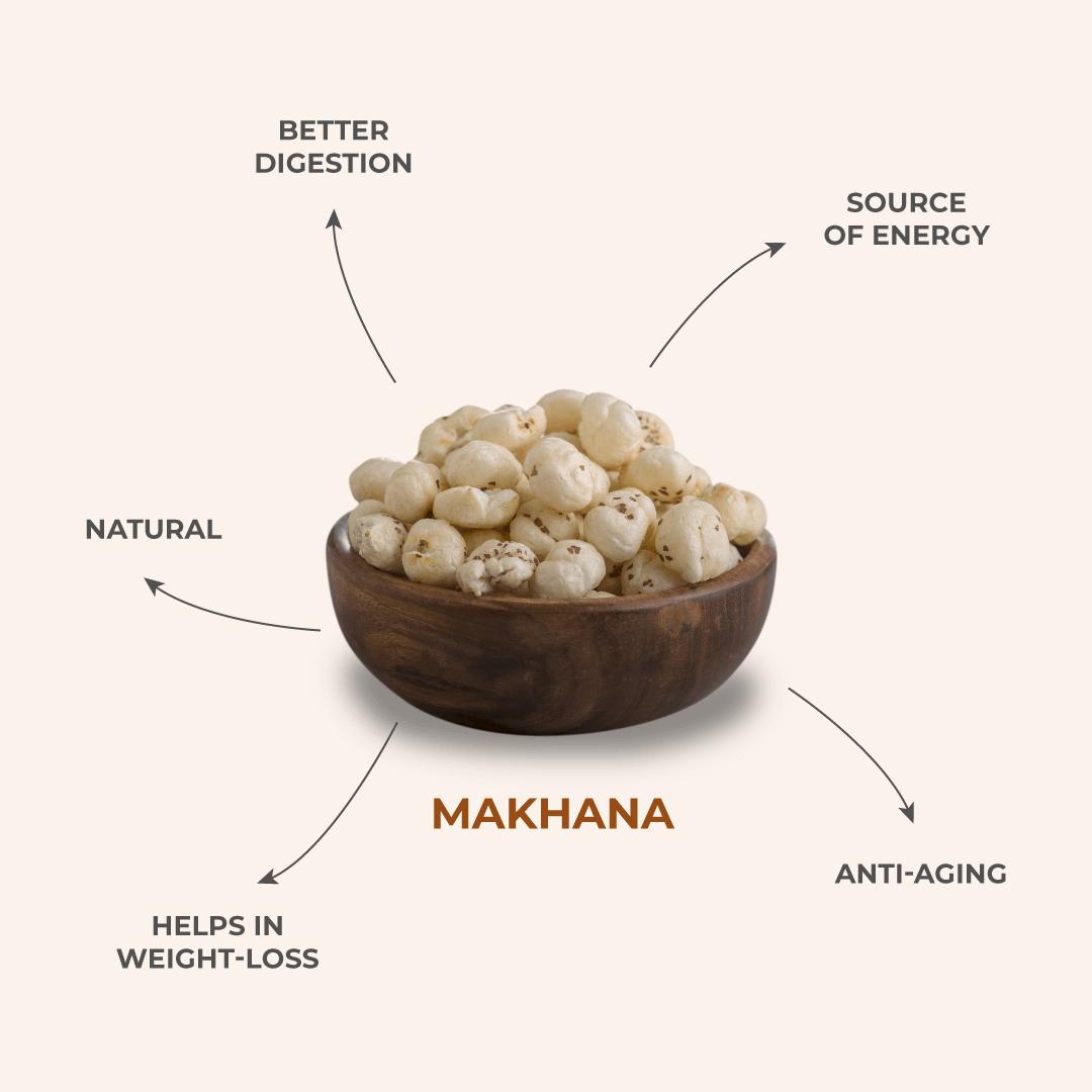 Tapas Makhana Snacks - Health Benefits